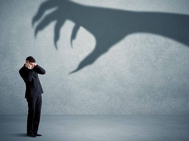 Angst am Arbeitsplatz