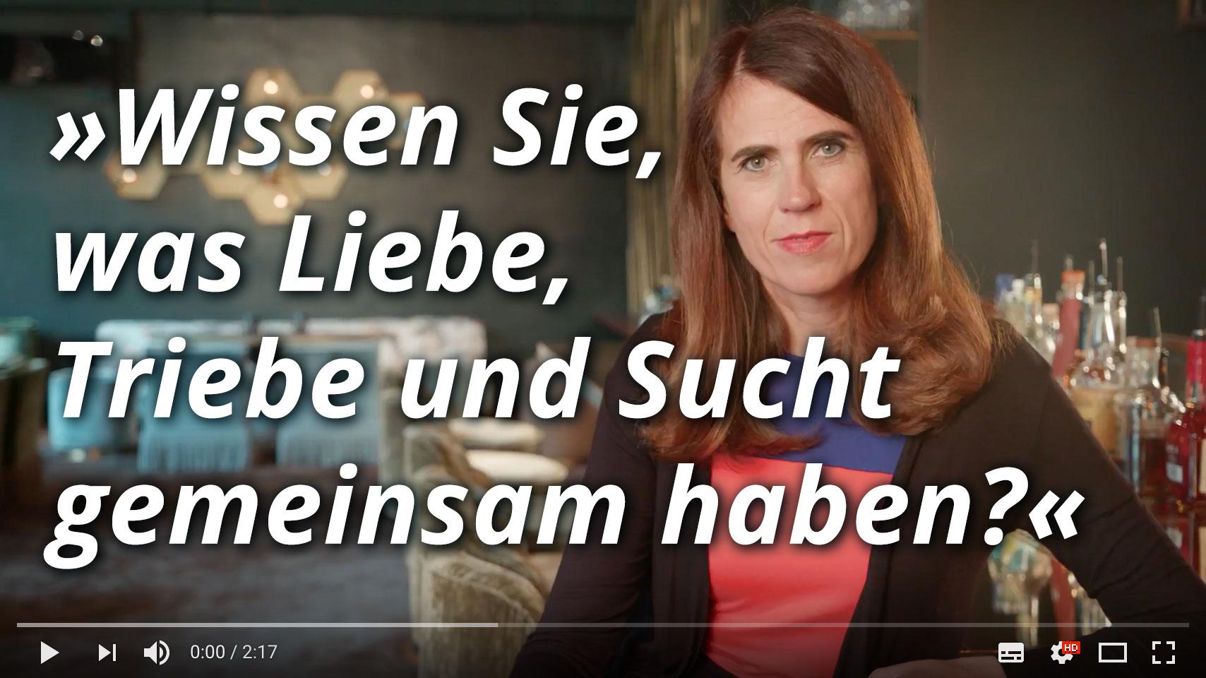 Dr. med. Heike Melzer: Wissen Sie, was Liebe, Triebe und Sucht gemeinsam haben?