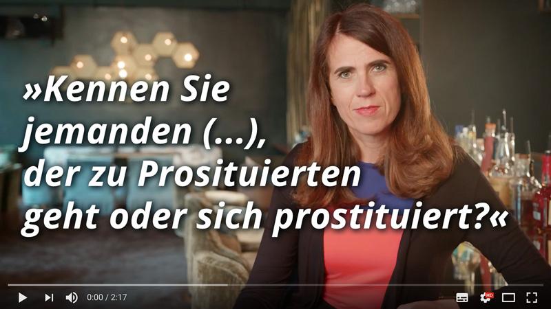 Dr. med. Heike Melzer: Kennen Sie jemanden, der zu Prostituierten geht?
