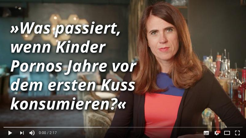 Dr. med. Heike Melzer: Was passiert, wenn Kinder Pornos Jahre vor dem ersten Kuss konsumieren?