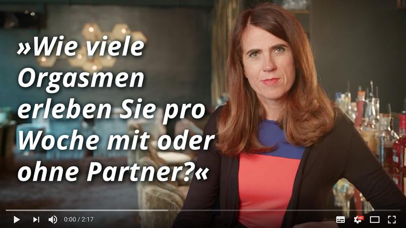 Dr. med. Heike Melzer: Wie viele Orgasmen erleben Sie pro Woche mit oder ohne Partner?